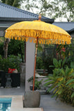 NEW Balinese 2m Single Ceremony Umbrella - Bali Umbrella - Balinese Garden Art