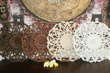 NEW Balinese Carved MDF/Wood Wall Panels - MANDALA Designs - 4 Colours Available