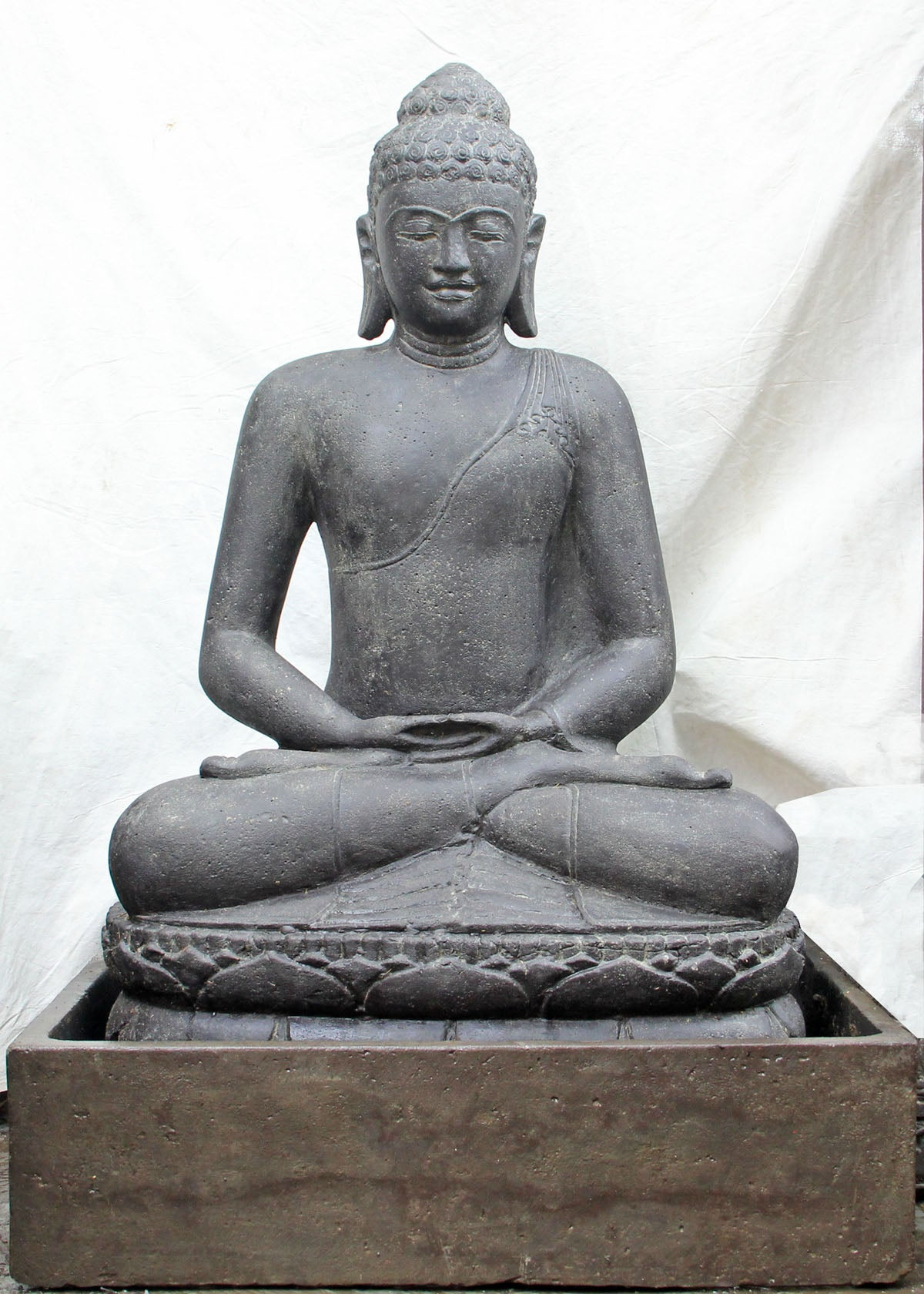 NEW Balinese Meditating Buddha Water Feature - Bali Water Feature