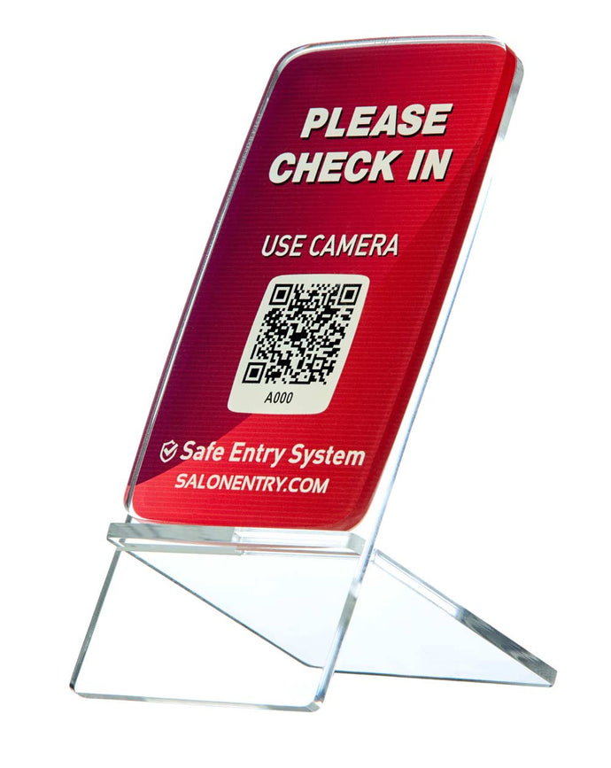 Safe Entry SmartSign for Salons