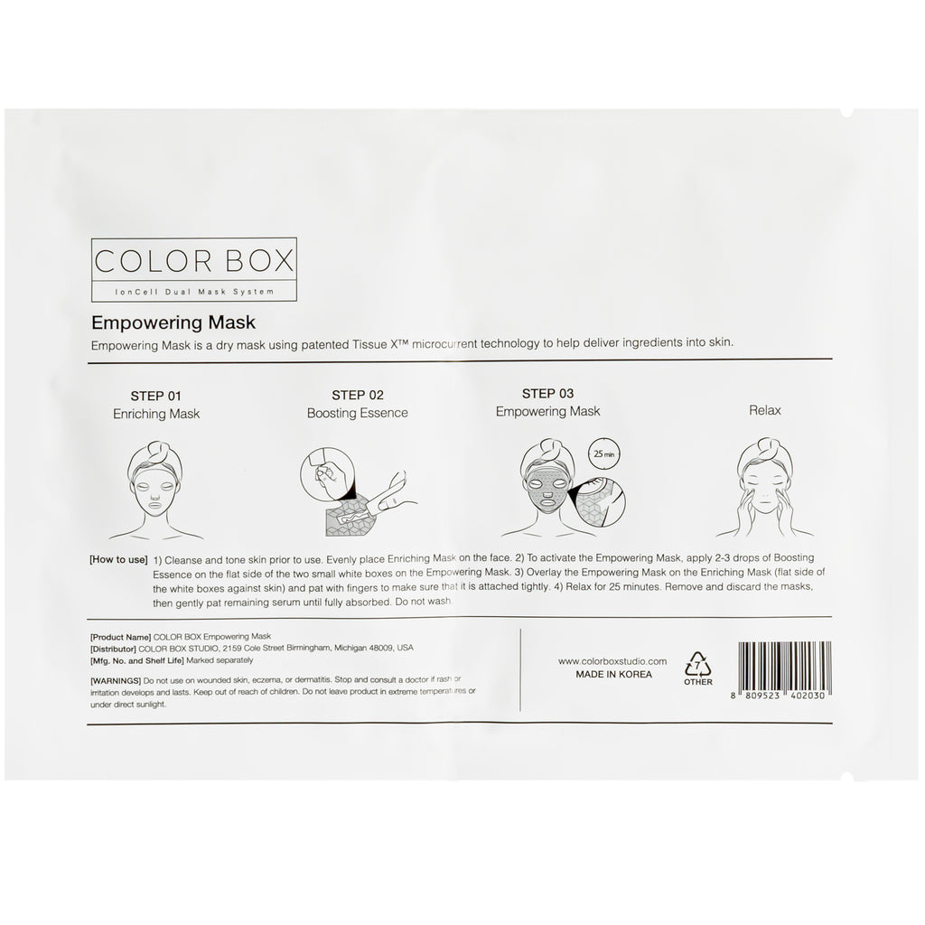 Color Box IonCell Dual Mask System