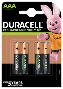 BATERIJA DURACELL PUNJIVA STAY CHARGED HR03 AAA 850 mAh 4/1