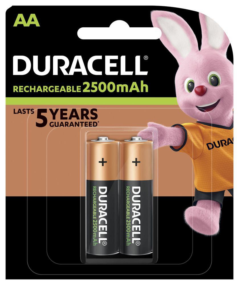 BATERIJA DURACELL PUNJIVA STAY CHARGED HR6 AA 2500 mAh 2/1