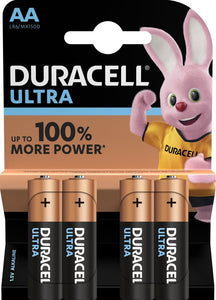 BATERIJA DURACELL ULTRA POWER AA/LR6 4/1