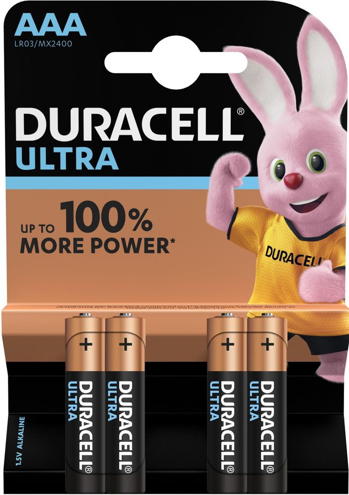 BATERIJA DURACELL ULTRA POWER AAA/LR03 4/1