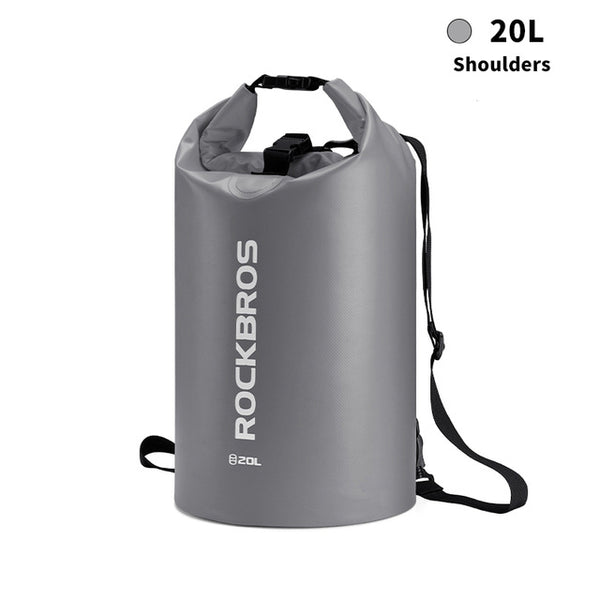 ROCKBROS 20L Sports Swimming Waterproof Bag | Outdoor Sports/Hiking Shoulder Foldable Bag