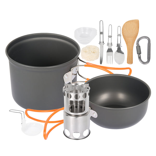 Outdoor Camping Cookware Set | Affordable Cooking Utensil