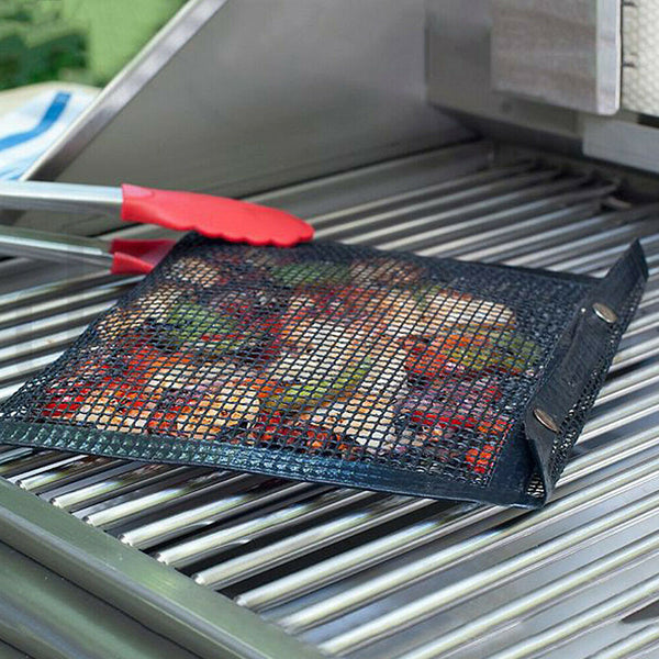 Non-Stick Mesh Grilling Bag Mats | Outdoor Picnic & Baking Barbecue Cooking Tool