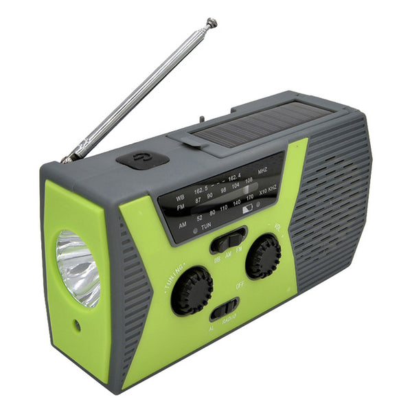 Portable Solar Weather Radio