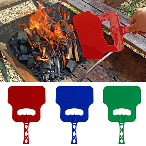 HOUSEEN Barbecue Combustion-supporting Outdoor Blower | Outdoor Cooking Manual Blower