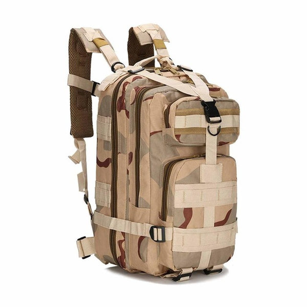 Tactical Camouflage Camera Backpack |  Outdoor Sport Bags | Waterproof Nylon Saddle Bag