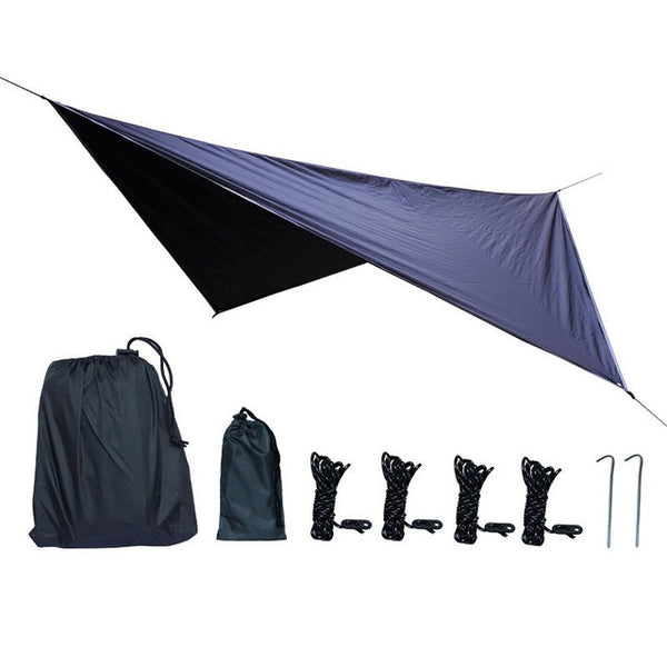 Awning Sun and Waterproof Tent | Canopy Sunshade Hammock Tarp Tent