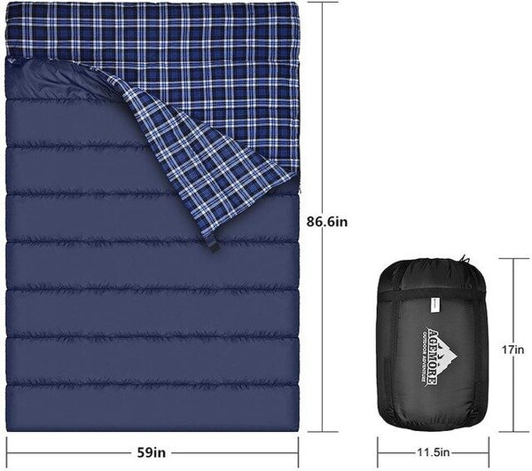 Agemore Single Sleeping Bag for Adults