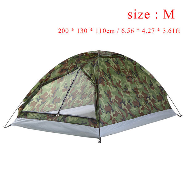 Tomshoo Ultralight, Single Layer, Water Resistant Camping Tent  with Carrying Bag for Hiking and Traveling