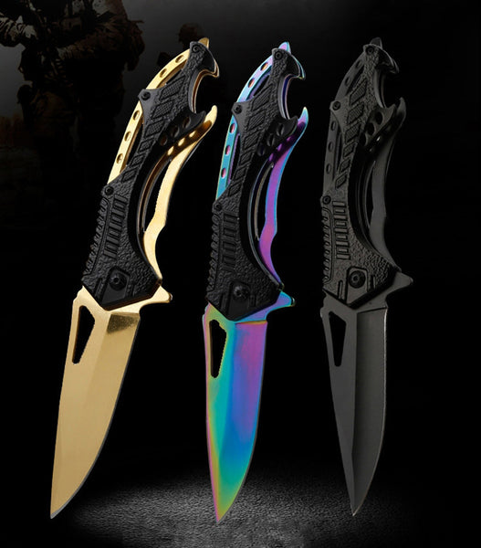 OWL OD058 Tactical Pocket Folding Knife |  Outdoor Survival Knives