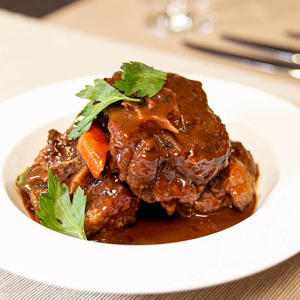 24 Hours Sous Vide Oxtail in Red Wine Sauce