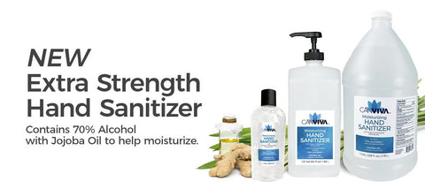 Canviva's Extra Strength Hand Sanitizer Collection