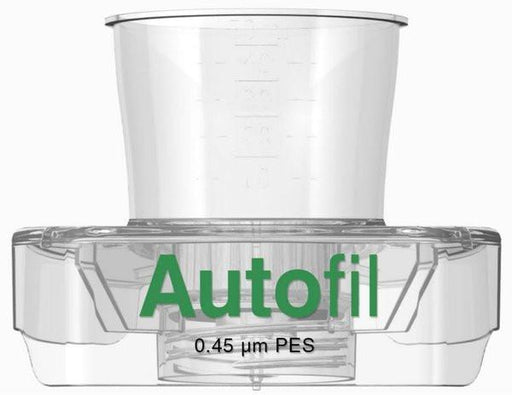 48/case Autofil® 50ml Vacuum Filter .45μm High Flow PES w/ FUNNEL ONLY