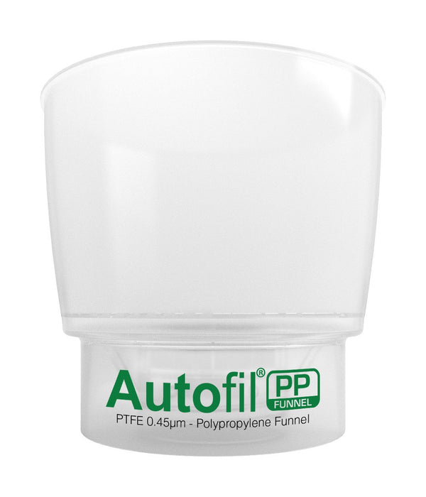 Autofil PP, 500mL Funnel Assembly, 0.45µm Foxx High Flow PTFE Membrane