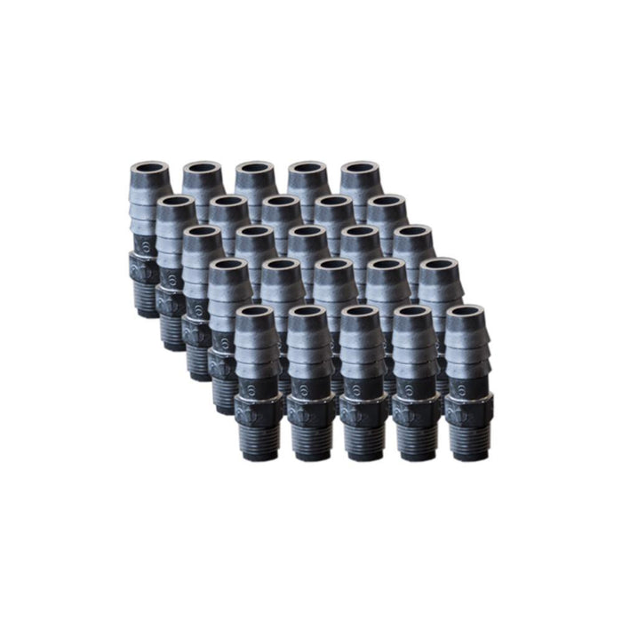 "EZwaste® Replacement 1/8"" MNPT x 3/8"" HB fittings, 25/pack"