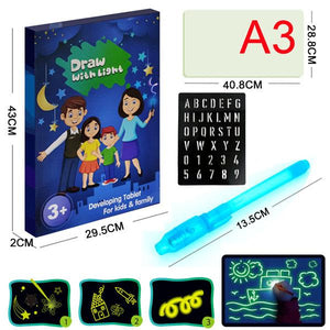 Draw in the Dark LED Tablet