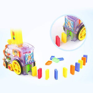 Children's Educational Toys Dominoes Small Train