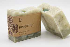 Prosperity Affirmation Soap