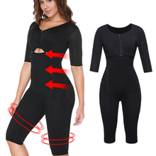 Load image into Gallery viewer, Post-Surgery Full Body Arm Shaper Body Suit  Shapewear