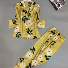 Load image into Gallery viewer, Summer Satin Silk Pajamas