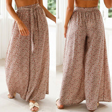 Load image into Gallery viewer, Boho Women Baggy Harem Pants High Waist Flared Bell Bottoms