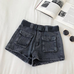 Casual Retro Denim Shorts