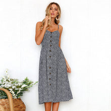 Load image into Gallery viewer, 2020 Boho Sexy Vintage Dress