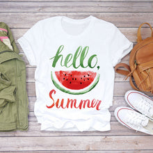 Load image into Gallery viewer, Watermelon Watercolor Tshirt