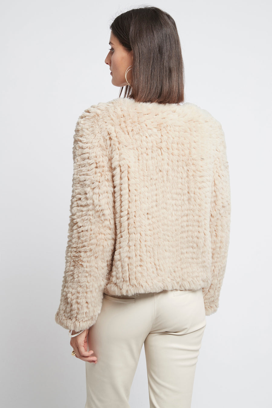 ELLE FAUX | LIGHT BEIGE