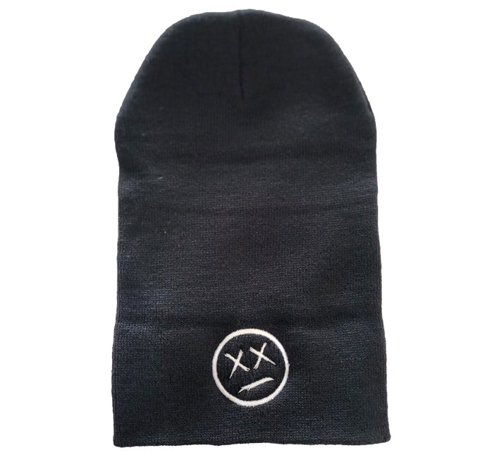 DEAD FACE LONG BEANIE