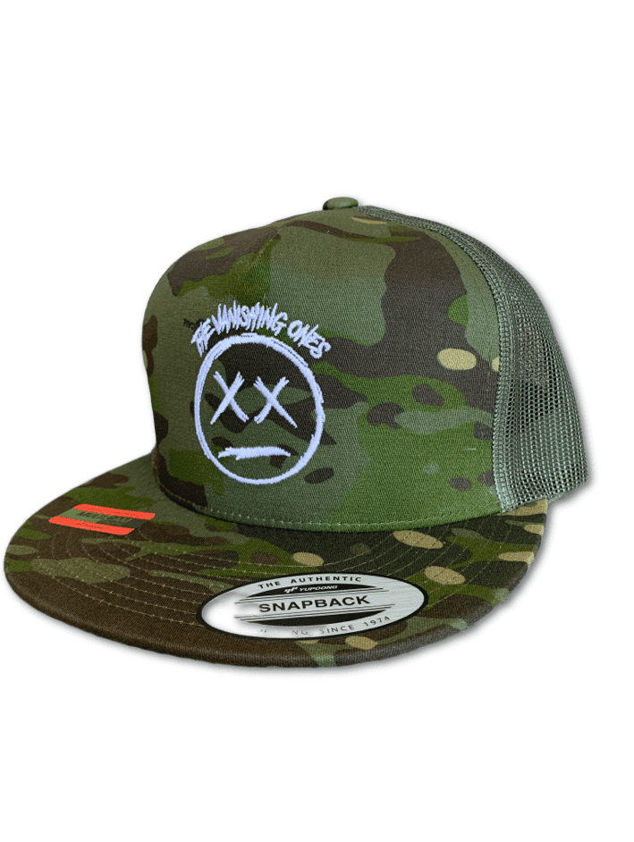 DEAD FACE CAMO TRUCKER HAT
