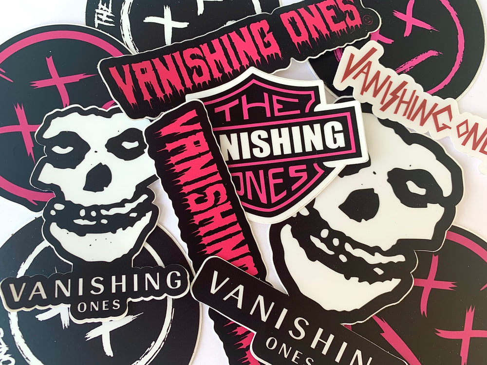 Vanishing Ones Sticker Pack