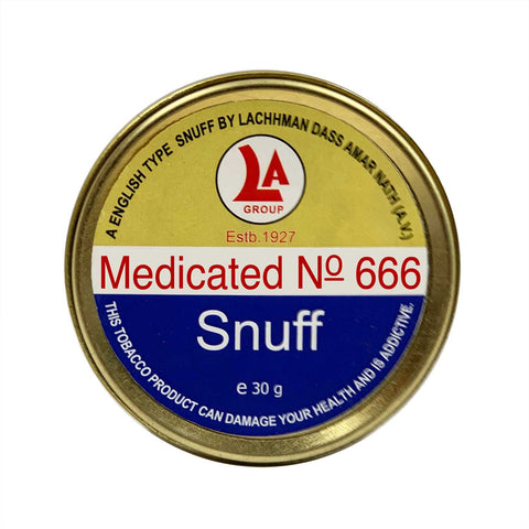 6 Photo Medicated No.666 - MrSnuff