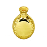 Gold Plated Brass Snuff Bottle - MrSnuff