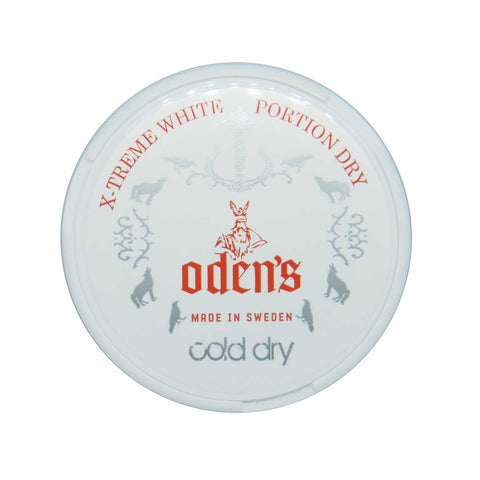 Odens Cold Extreme White Dry Portion - MrSnuff