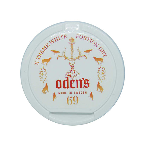 Odens 69 Extreme White Dry Portion - MrSnuff