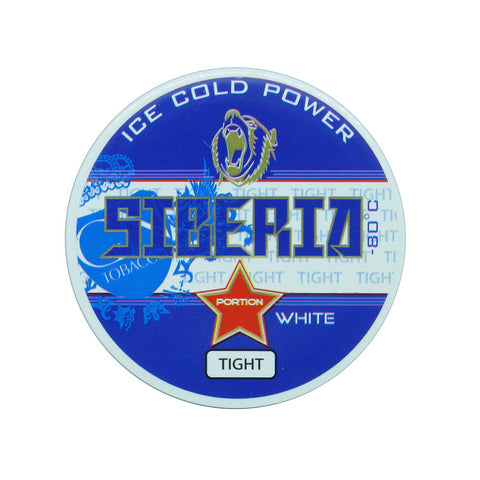 Siberia -80 Degree White Tight Portion - MrSnuff
