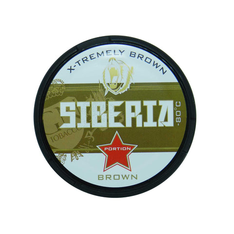 Siberia -80 Degree Brown Portion - MrSnuff