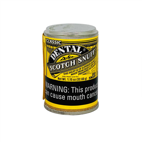 Dental Scotch 1.15 oz - MrSnuff