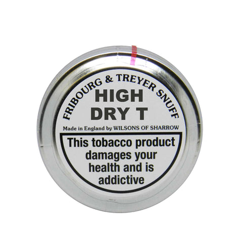 Fribourg and Treyer High Dry T - MrSnuff