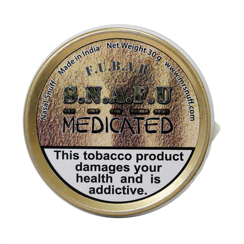 FUBAR Snafu Medicated 30g - MrSnuff