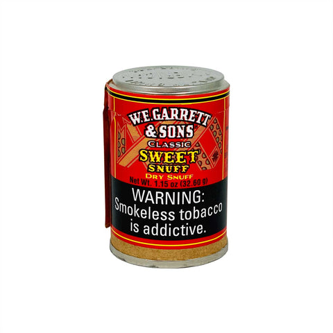 W.E Garret Sweet 1.15 oz - MrSnuff