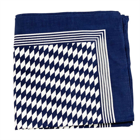 Diamond Pattern Handkerchief - MrSnuff