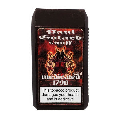 Paul Gotard Medicated 1790 7g - MrSnuff