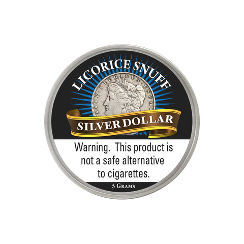 Silver Dollar Licorice - MrSnuff